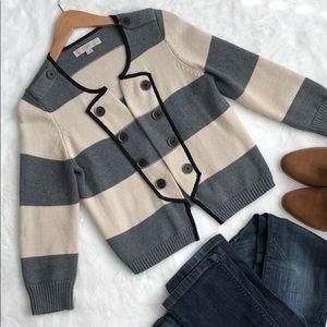 LOFT military style cardigan sweater❤️